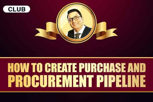 How to Create Purchase and Procurement Pipeline cover