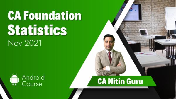 CA Foundation Statistics for Nov 2021 | Mobile App cover