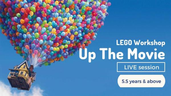LEGO - Up The Movie cover