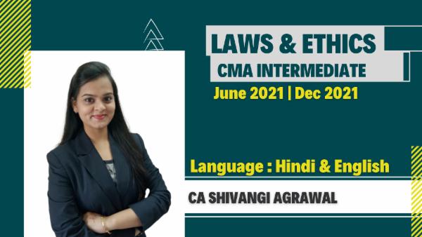 CMA Intermediate Laws & Ethics For June 2021 & Dec 2021 cover