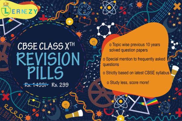 CBSE Revision Pills : Class 10th cover