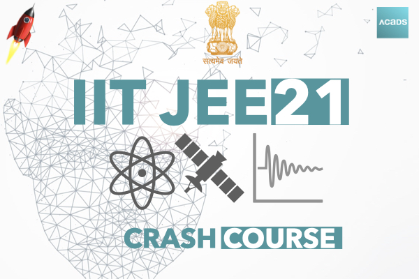 IIT JEE Crash Course 2021 cover