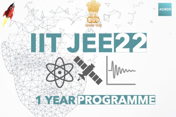 IIT JEE 1 Year Programme 2022 cover