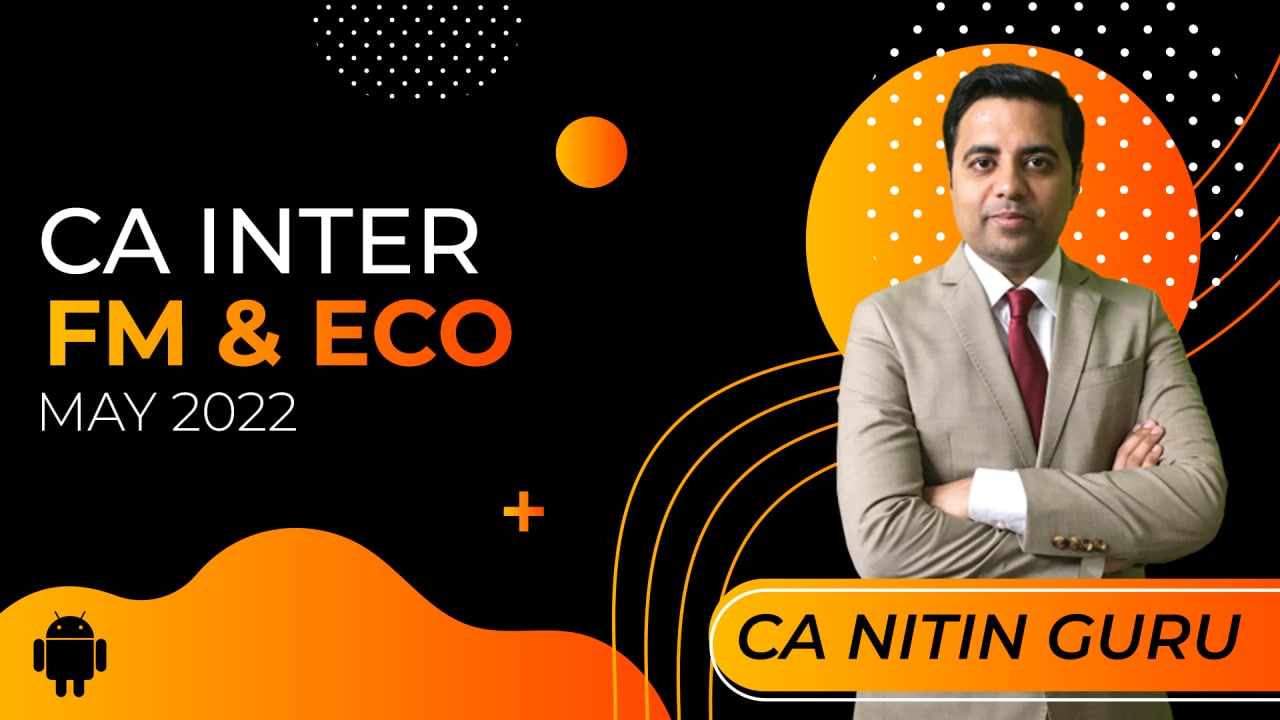 CA Inter FM & Eco for May 2022-Android App cover