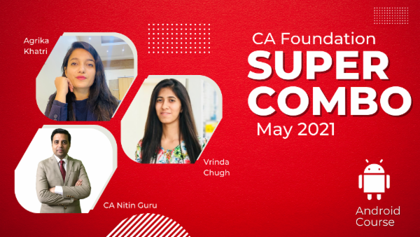 CA Foundation May 2021 Combo cover