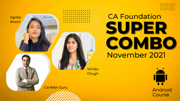 CA Foundation Nov 2021 Combo-Android App cover