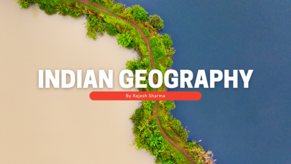 Indian Geography cover