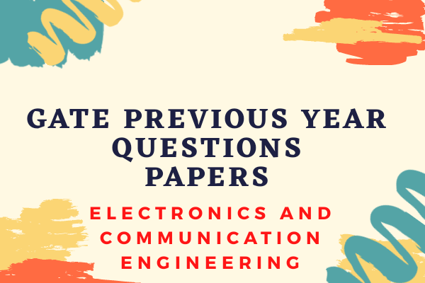 GATE Previous Year Papers for ECE cover