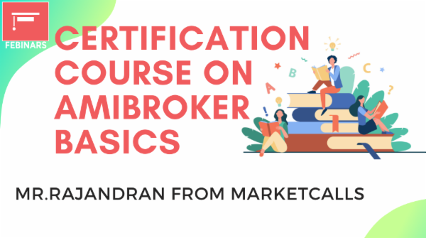 Certification Course on Amibroker Basics cover