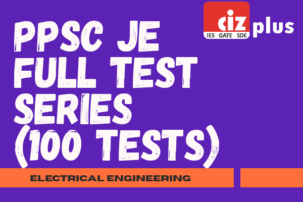 PPSC JE Full Mock Test Series (Electrical) cover