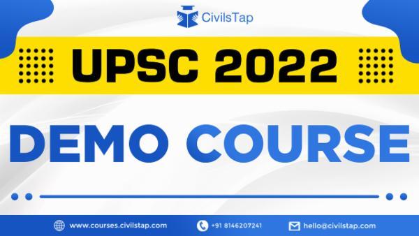 DEMO - UPSC 2022 cover