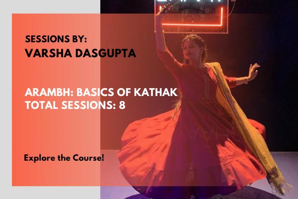 Arambh: Basics of Kathak cover