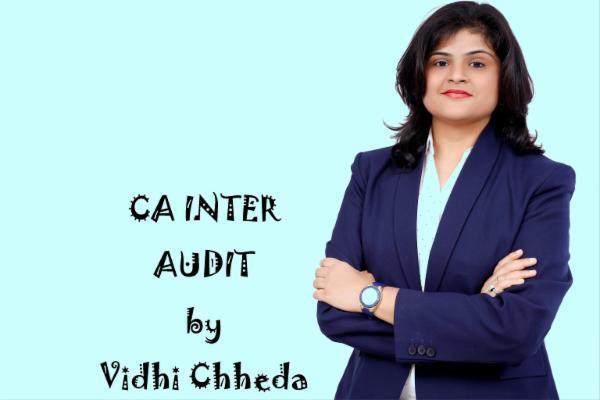 CA INTER - AUDIT - LIVE cover