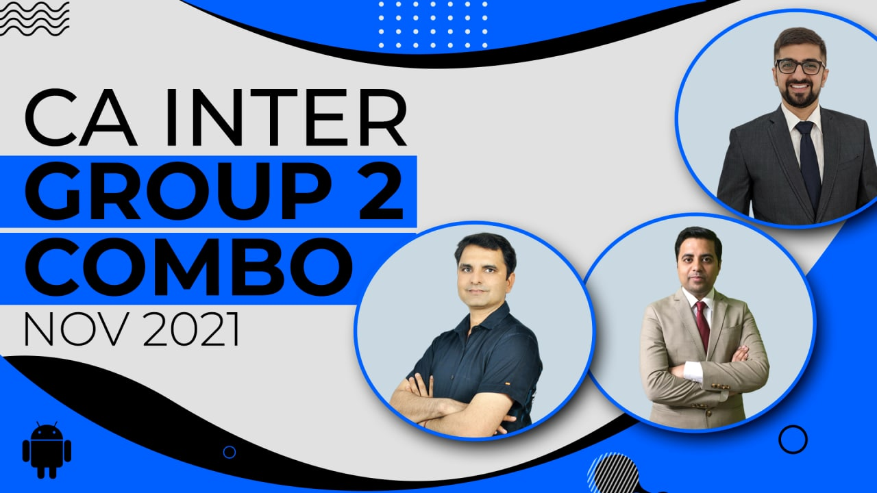CA Inter Group 2 Combo -Nov 2021 - Android App cover