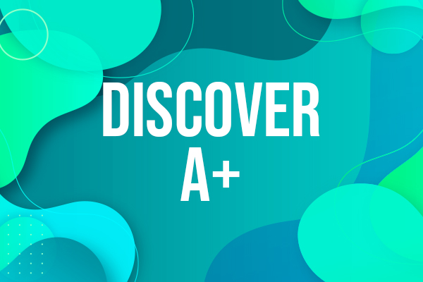 DISCOVER A+ cover