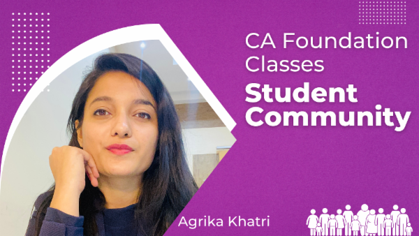 CA Foundation Classes Student Community cover