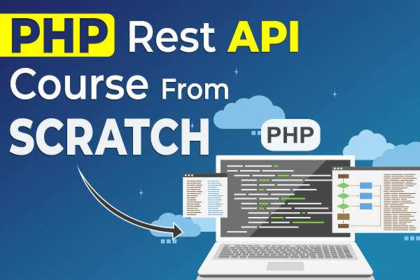 PHP Rest API Course From Scratch cover