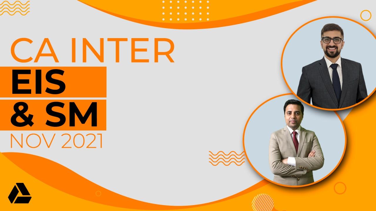 CA Inter EIS & SM Combo - Google Drive - Nov 2021 cover