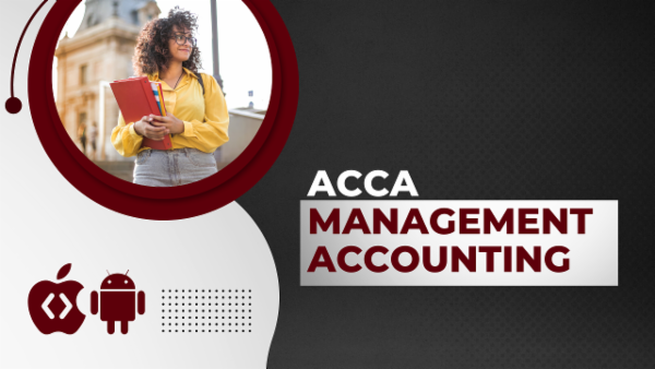 ACCA Management Accounting-App Based Classes cover