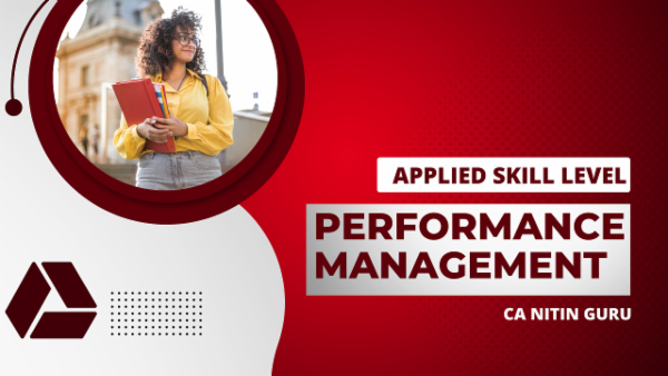 ACCA Performance Management- Google Drive Classes cover