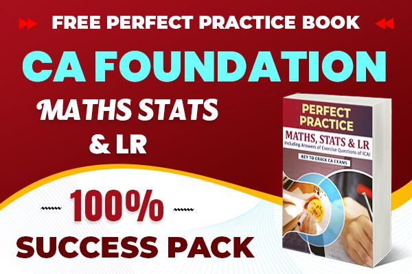 Maths Stats & LR Combo Pack : CA Foundation cover