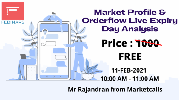 Market Profile & Orderflow Live Expiry Day Analysis cover