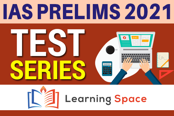 IAS PRELIMS 2021 - TEST SERIES cover