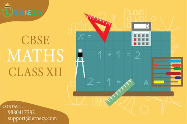 CBSE Mathematics - 12th cover