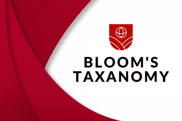 Bloom's Taxanomy cover