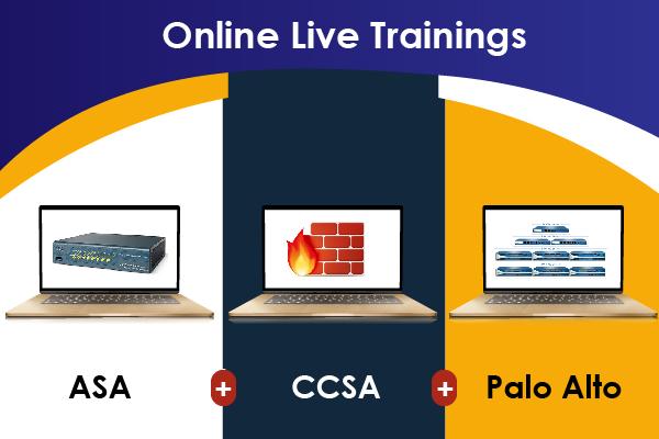 3 in 1: ASA + CCSA + Palo Alto cover