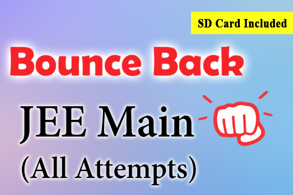Bounce Back Crash Course JEE 2021 (Main) cover