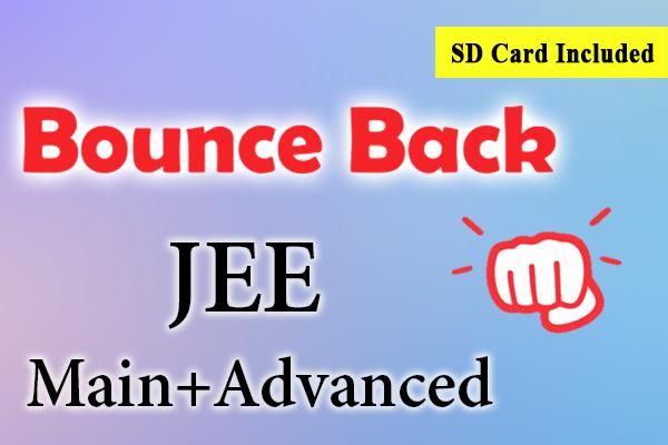 Bounce Back Crash Course JEE 2021 (Main + Advanced) cover