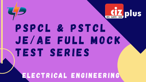 PSPCL JE Full Mock Test Series (Electrical) cover