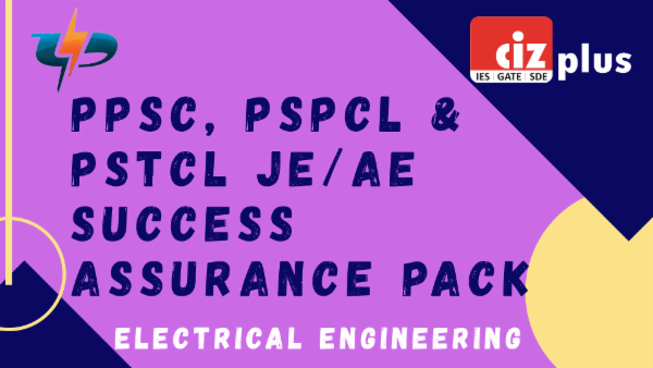 PPSC, PSPCL And PSTCL JE/AE Success Assurance Pack (Electrical) cover