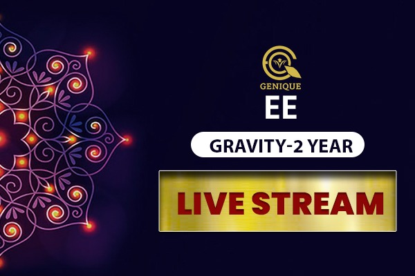 EE GRAVITY LIVE STREAM 2 Year cover