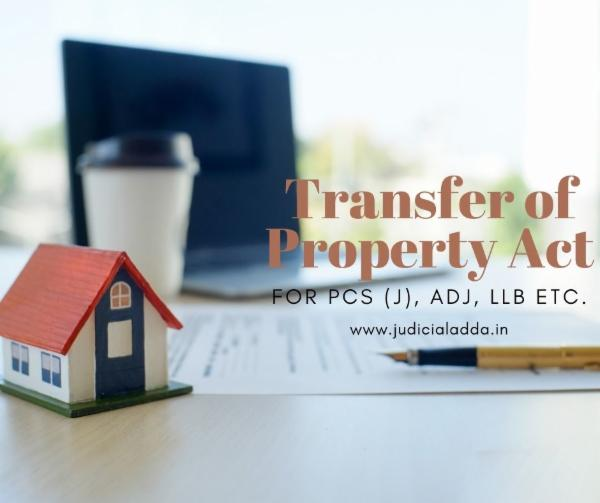 Transfer of Property Act cover