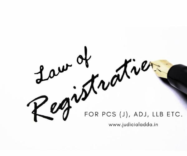 Law of Registration cover