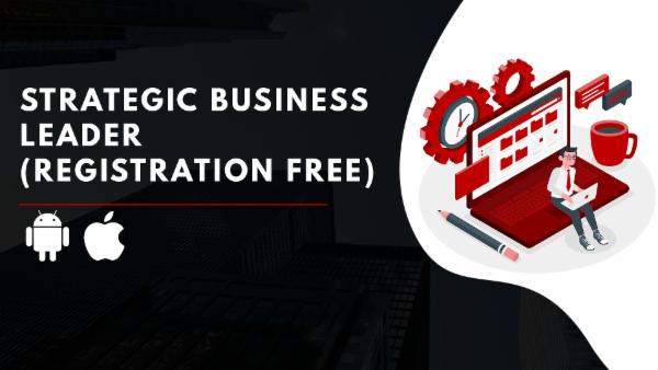 ACCA Registration + Strategic Business Leader -App Based Classes cover