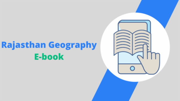 RSMSSB JE Rajasthan Geography Notes cover