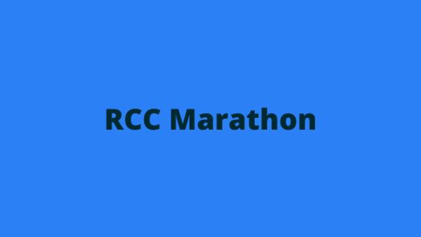 RSMSSB JE RCC Marathon Notes cover