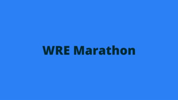 RSMSSB JE WRE Marathon Notes cover