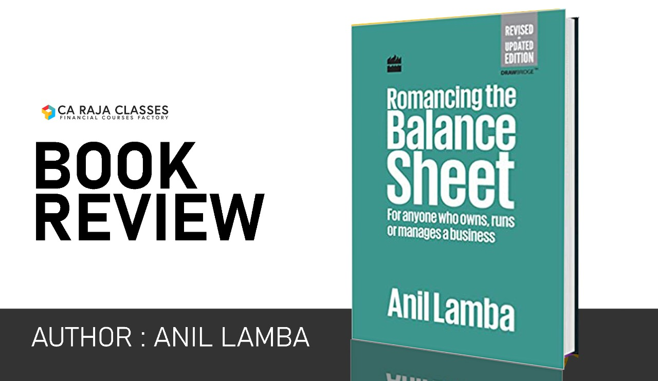 """Review of """"Romancing the Balance Sheet: For Anyone Who Owns, Runs or Manages a Business"""" Book cover"""