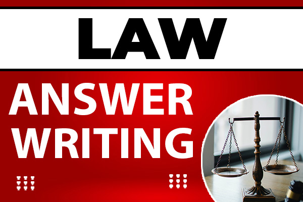 Law : Answer Writing cover