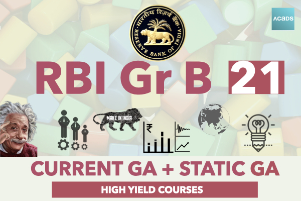 RBI 2021 [Current GA + Static GA] cover