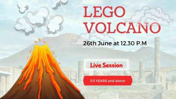 LEGO - Volcano Experiment cover