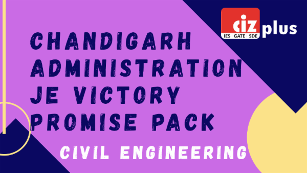 Chandigarh Administration JE Victory Promise Pack (Civil) cover
