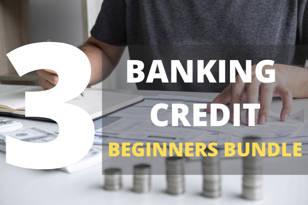 3 Banking Credit Courses Bundle cover