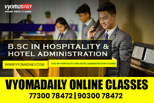 BSC Hospitality & Hotel Administration Online Classes cover