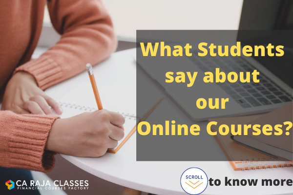 What Students say about our Courses? Scroll down to know more!!! cover