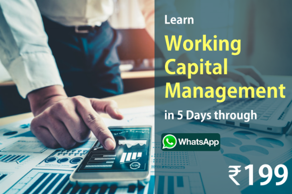 Learn Working Capital Management in 5 Days through WhatsApp cover